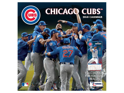 Chicago Cubs MLB 12x12 Team Wall Calender