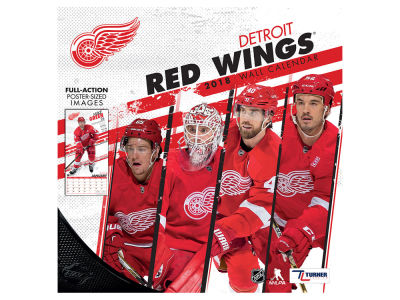 Detroit Red Wings MLB 12x12 Team Wall Calender