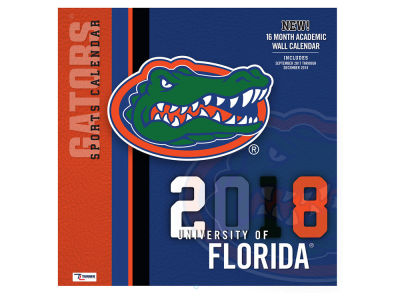 Florida Gators MLB 12x12 Team Wall Calender