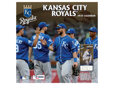 Kansas City Royals MLB 12x12 Team Wall Calender