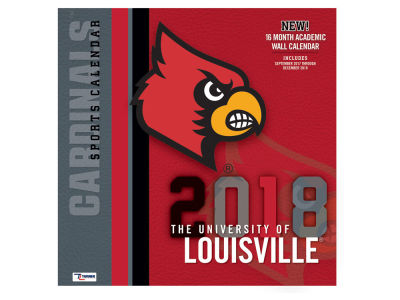 Louisville Cardinals MLB 12x12 Team Wall Calender