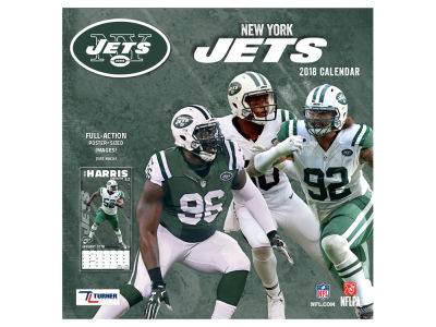 New York Jets MLB 12x12 Team Wall Calender