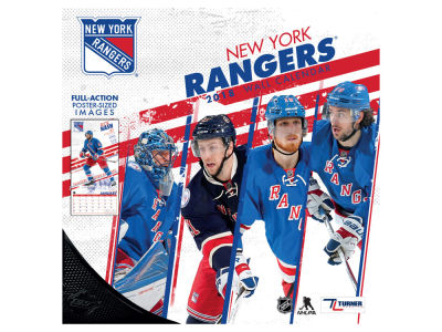 New York Rangers MLB 12x12 Team Wall Calender