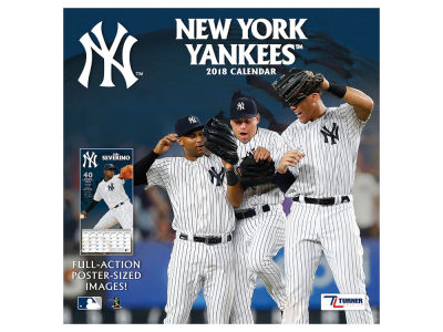 New York Yankees MLB 12x12 Team Wall Calender