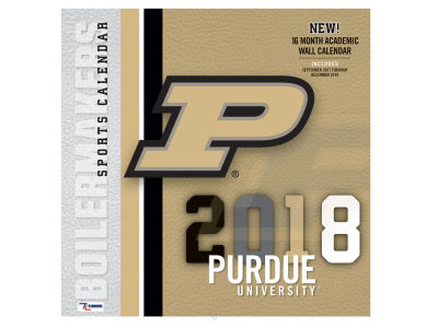 Purdue Boilermakers MLB 12x12 Team Wall Calender