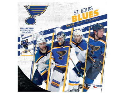 St. Louis Blues MLB 12x12 Team Wall Calender