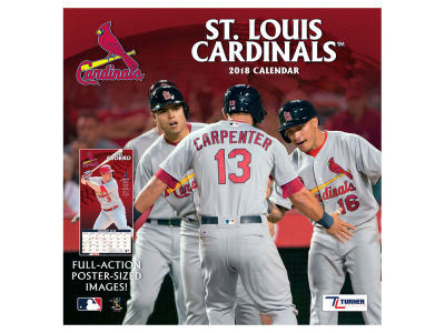 St. Louis Cardinals MLB 12x12 Team Wall Calender