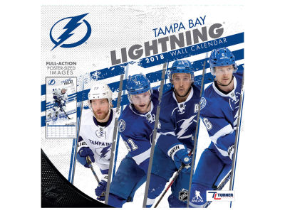 Tampa Bay Lightning MLB 12x12 Team Wall Calender