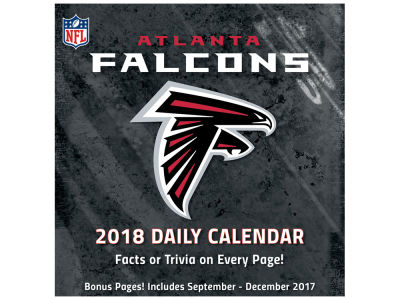 Atlanta Falcons Box Calendar