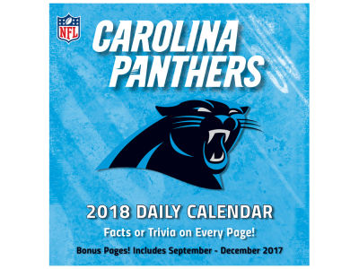 Carolina Panthers Box Calendar