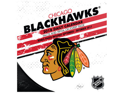 Chicago Blackhawks Box Calendar