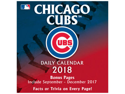 Chicago Cubs Box Calendar