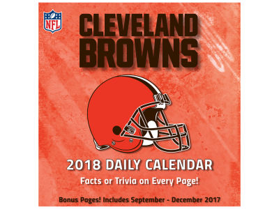 Cleveland Browns Box Calendar