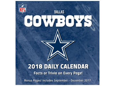 Dallas Cowboys Box Calendar