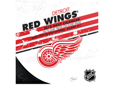 Detroit Red Wings Box Calendar
