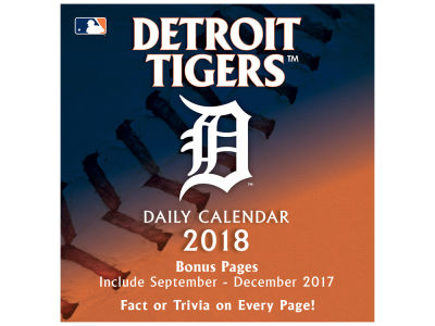 Detroit Tigers Box Calendar