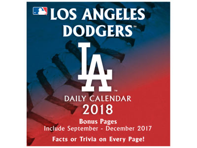 Los Angeles Dodgers Box Calendar