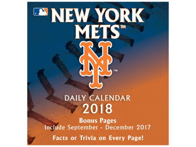 New York Mets Box Calendar