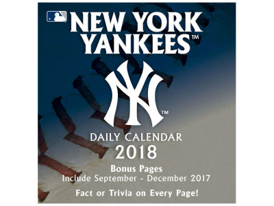 New York Yankees Box Calendar