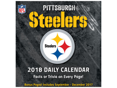 Pittsburgh Steelers Box Calendar
