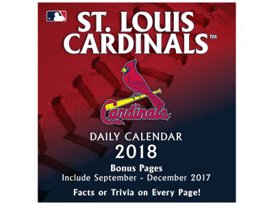 St. Louis Cardinals Box Calendar