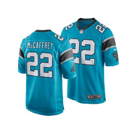 Carolina Panthers Christian McCaffrey Nike NFL Men's Game Jersey