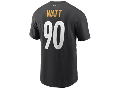 Pittsburgh Steelers T.J. Watt Nike NFL Men's Pride Name and Number T-Shirt