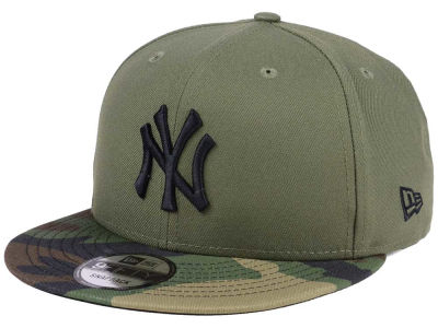 New York Yankees New Era MLB Woodland Black/White 9FIFTY Snapback Cap