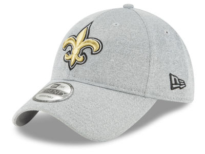 New Orleans Saints New Era NFL Heather Leisure 9TWENTY Cap