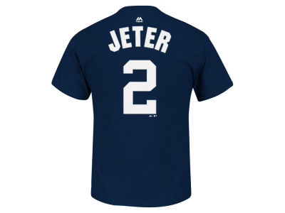 New York Yankees Derek Jeter MLB Men's Big and Tall Commemorative Player T-Shirt