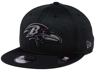 Baltimore Ravens New Era NFL Shadow Black Graph 9FIFTY Snapback Cap
