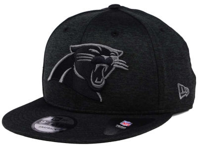 Carolina Panthers New Era NFL Shadow Black Graph 9FIFTY Snapback Cap