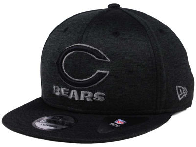 Chicago Bears New Era NFL Shadow Black Graph 9FIFTY Snapback Cap