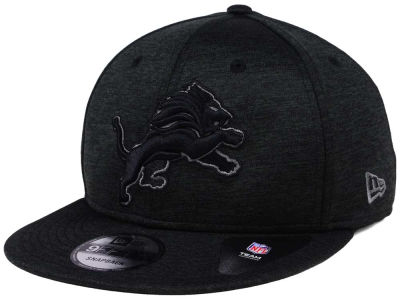 Detroit Lions New Era NFL Shadow Black Graph 9FIFTY Snapback Cap