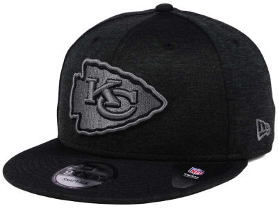 Kansas City Chiefs NFL Shadow Black Graph 9FIFTY Snapback Cap