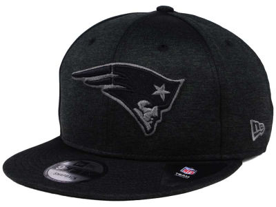 New England Patriots New Era NFL Shadow Black Graph 9FIFTY Snapback Cap