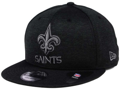 New Orleans Saints NFL Shadow Black Graph 9FIFTY Snapback Cap