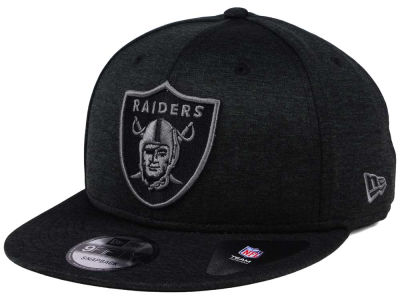 Oakland Raiders NFL Shadow Black Graph 9FIFTY Snapback Cap