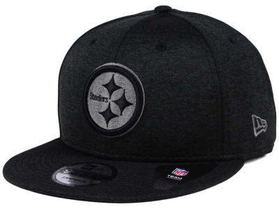 Pittsburgh Steelers New Era NFL Shadow Black Graph 9FIFTY Snapback Cap