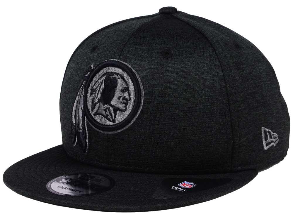 055ed39fd2c Washington Redskins New Era NFL Shadow Black Graph 9FIFTY Snapback ...
