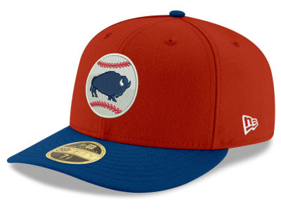 Buffalo Bisons New Era MiLB AC Low Profile 59FIFTY Cap
