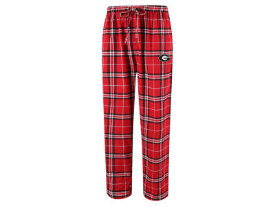 Georgia Bulldogs Concept Sports NCAA Men's Huddle Flannel Pant