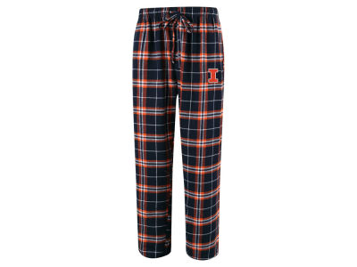 Illinois Fighting Illini Concept Sports NCAA Men's Huddle Flannel Pant