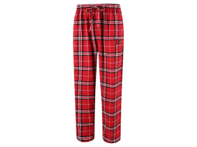 Louisville Cardinals Concept Sports NCAA Men's Huddle Flannel Pant