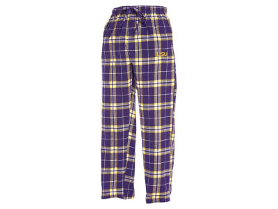 LSU Tigers Concept Sports NCAA Men's Huddle Flannel Pant