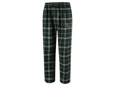 Miami Hurricanes NCAA Men's Huddle Flannel Pant