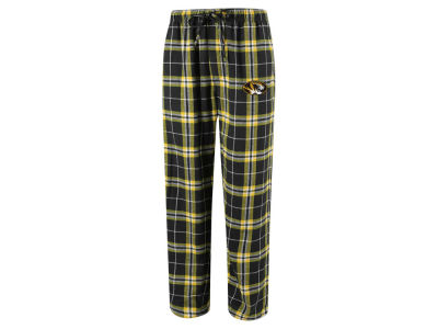 Missouri Tigers Concept Sports NCAA Men's Huddle Flannel Pant