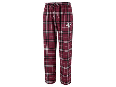 Texas A&M Aggies Concept Sports NCAA Men's Huddle Flannel Pant