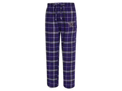 Washington Huskies Concept Sports NCAA Men's Huddle Flannel Pant