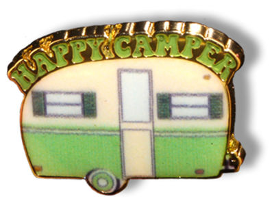 King Pins Happy Camper Hat Pin